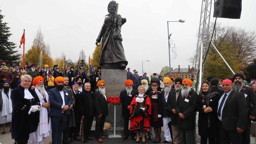 Vandalizan estatua en Reino Unido por motivos racistas